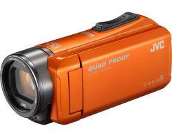 JVC GZ-R405DEU orange Full-HD Camcorder