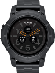 Nixon Smart Watch Mission SS, Black