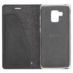 Krusell Sunne 4 Card FolioWallet für Galaxy A8 (2018), Black