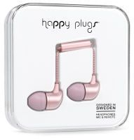 Happy Plugs In-Ear Matte Deluxe Edition Pink