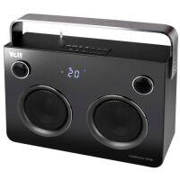 Walkbox One Bluetooth Lautsprecher mit Radio schwarz/silber
