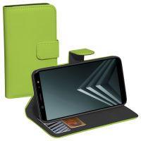 Pedea Bookstyle Classic Case für Galaxy A6+ 2018 grün