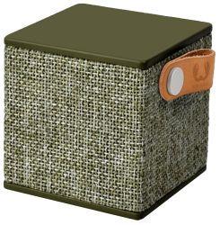 FRESH 'N REBEL Rockbox Cube Fabriq Edition BT Speaker, Army (1RB1000AR)