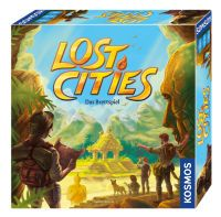 Kosmos Lost Cities, Lost Cities - Das Brettspiel 694128, 29,6x7,3x29,9 cm, 694128