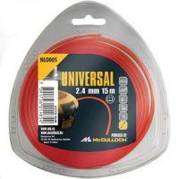 McCulloch Universal Trimmerfaden Nylon 2,4 mm NLO008 90 m