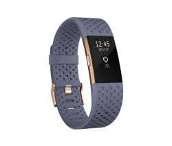 Fitbit Charge 2 Special Edition small          blaugrau/rosegold