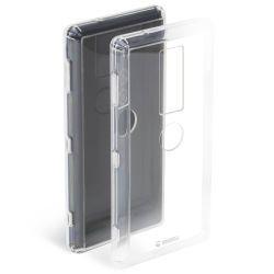 Krusell HardCover Kivik für Xperia XZ2 Premium, Transparent