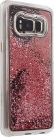 Waterfall Samsung S8 rose gold Cover
