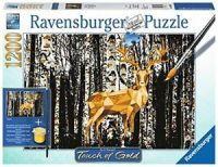Ravensburger Hirsch im Birkenwald - Touch of Gold (19936)