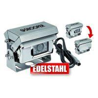 Snooper Rückfahrkamera 12/24V mit Motorschutzklappe 20 m Kabel, Anschlußset