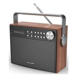 Sharp Radio P350 DAB UKW sw (DR-P350)