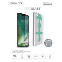 nevox NEVOGLASS Apple iPhone XS / X tempered Glass mit Easy App