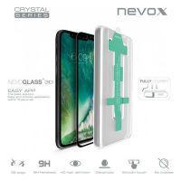 nevox NEVOGLASS 3D - Apple iPhone XR curved glass mit Easy App schwarz