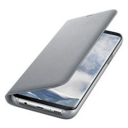 Samsung LED View Cover EF-NG955 für Galaxy S8+ Silver