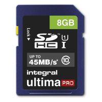 Integral SDHC Karte 8GB cl10 (32-88-27/INSDH8G10-45)