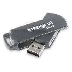 Integral USB Stick 360 16GB gr (27-63-53/INFD16GB360GYV2)