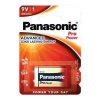 Panasonic Batterie Pro Power       -9V  E-Block         1St. (6LR61PPG/1BP)