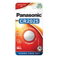 Panasonic Batterie Knopfzelle CR2025 3.0V Lithium       1St. (CR-2025EL/1BP)