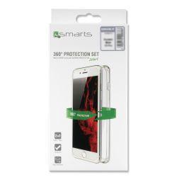 4smarts 360° Protection Set für Apple iPhone XS /X transparent