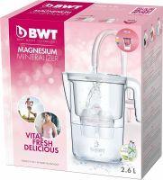 BWT Tischwasserfilter Vida 2,6l + 1 Kartusche pink