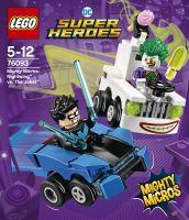 LEGO HERO MIGHTY MICROS SORT. (76093)