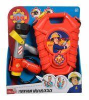 Simba Feuerwehrmann Sam Feuerwehr Tankrucksack Ostern Wasserspaß