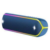 Sony SRS-XB32L, wasserfester Bluetooth-Lautsprecher, blau