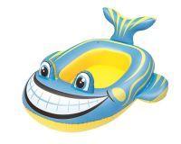 Kinderboot Frosch + Fisch