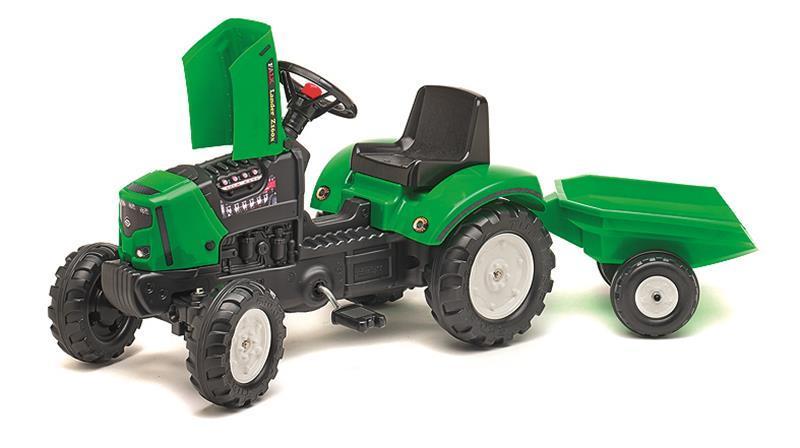 Rolly Toys TRAKTOR M.ANHÄNGER 132CM GRÜN 2031A