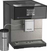 Miele CM 7550 CoffeePassion Stand-Kaffeevollautomat Obsidianschwarz (11025300)