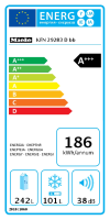 Miele KFN 29283 D bb Stand-Kühl-Gefrierkombination XL Blackboard edition (10243090)