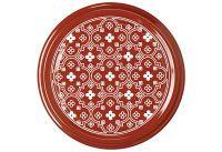 DOSEN-ZENTRALE Twist-off Deckel sterilisationsfest Ø82mm rot/weiß Blumen 6er Beutel (30442)