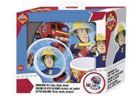 P:OS Frühstücksset Feuerwehrmann Sam 3teilig ()