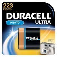Duracell Batterie Ultra Photo Lithium 223 (CR-P2)       1St. (223103)