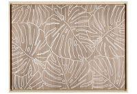 Bild Palmenblätter Holzrahmen 60x80cm (9332137)