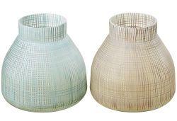 BOLTZE Vase Jena sort H19cm ø20cm (2579600)