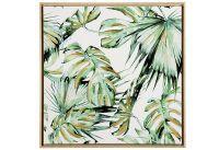 Bild Palmenblätter 79x79 cm gn (9332136)