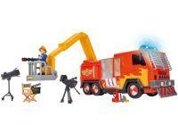 Simba Feuerwehrmann Sam Hollywood Jupiter mit 1 Figur