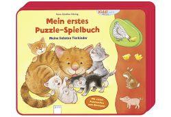 ARENA M.ers.Puzzle-Spielb.Tierkinder (978-3-401-71376-2)
