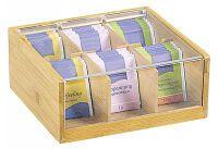 KESPER Tee-Box Bambus FSC 22x21cm (58903)