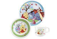 POS Winnie Puuh Frühstücksset 3 - teilig im Geschenkkarton (68934088)