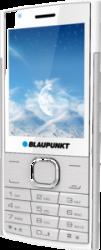 Blaupunkt FL 01 Feature Phone 2G 2,8 Zoll (white silver)