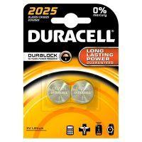 Duracell Knopfzellenbatterie Lithium DL/CR 2025 2 Stk
