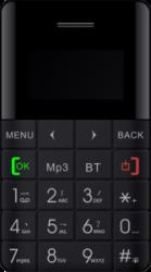 Blaupunkt FXS 01 Feature Phone (black)