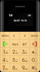 Blaupunkt FXS 01 Feature Phone (gold)