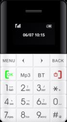 Blaupunkt FXS 01 Feature Phone (white)