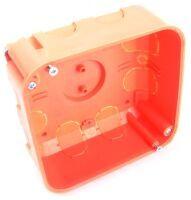 Dietzel Abzweigkasten orange 8 Rohreinführungen Ø20mm 6 Kabeleinführungen