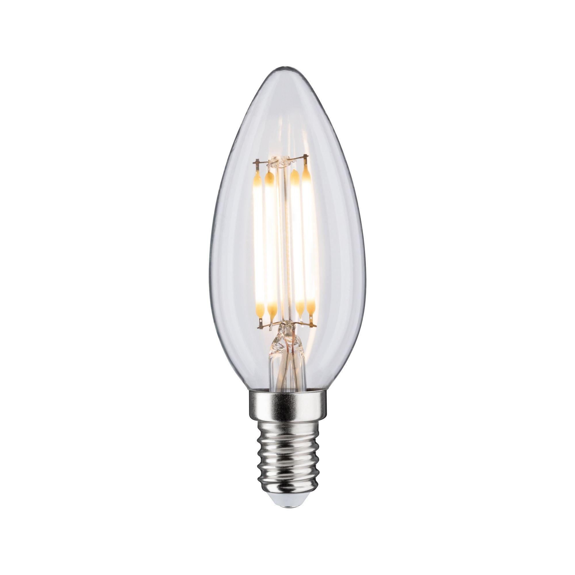 Paulmann LED Fil Kerze 470lm E14 2700K klar 4,5W 230V (28611)