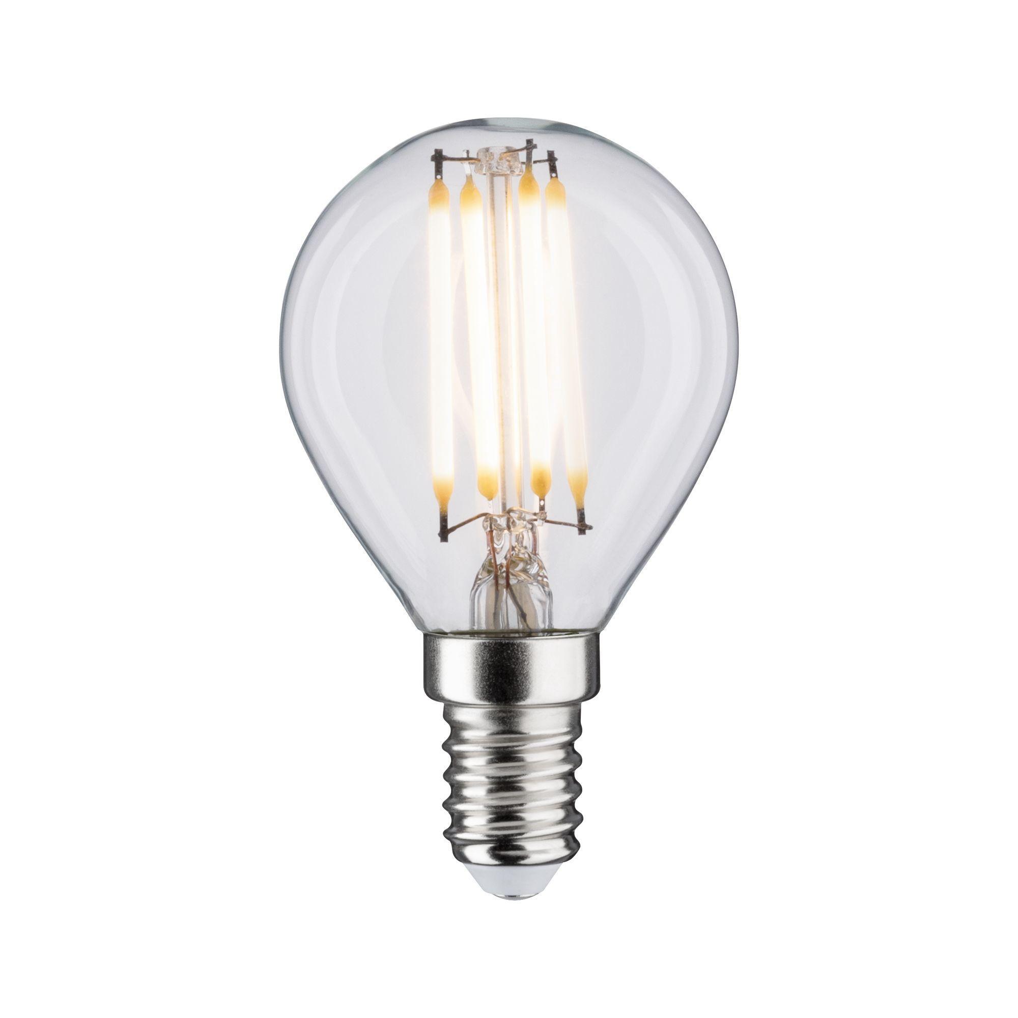 Paulmann LED Fil Tropfen 470lm E14 2700K klar 5W 230V (28630)
