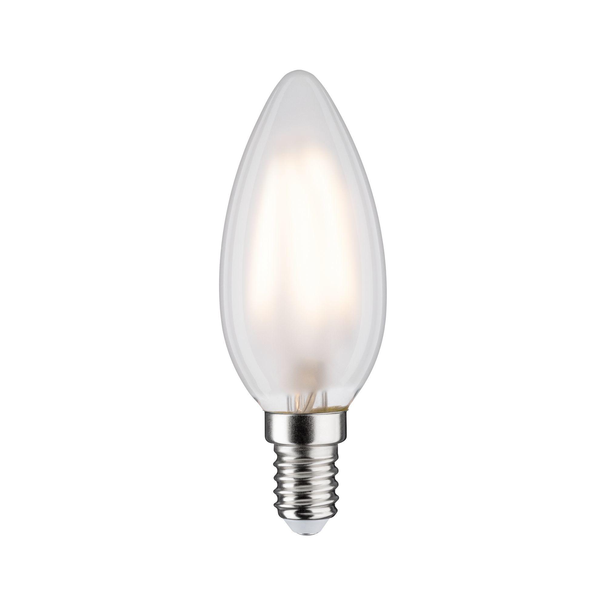 Paulmann LED Fil Kerze 470lm E14 2700K matt 4,5W 230V (28612)